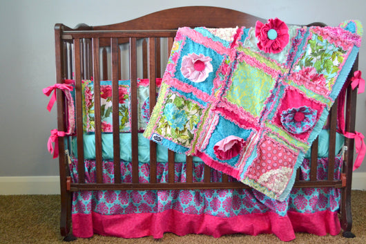 Ruffle Flower Rag Quilt Pattern A Vision To Remember