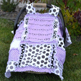 Addy Mae Rag Quilt Carseat Canopy Pattern - Instant Download - Pattern - A Vision to Remember