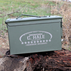 Ammo Can - Oval & Stars