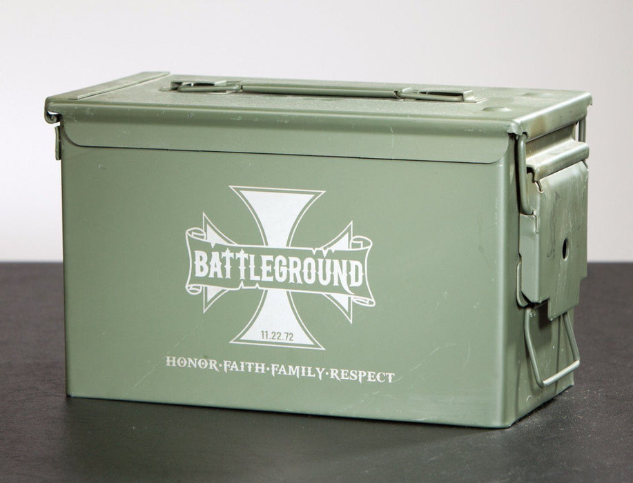 Ammo Box - Iron Cross - ScissorMill