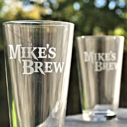 Custom Brew Pint Glass - ScissorMill