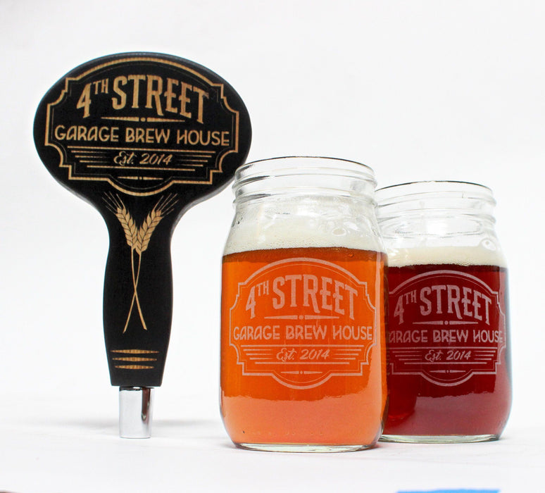 Custom Beer Tap Handle Set - ScissorMill