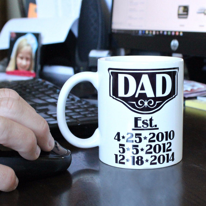 Father's Day Coffee Mug - ScissorMill