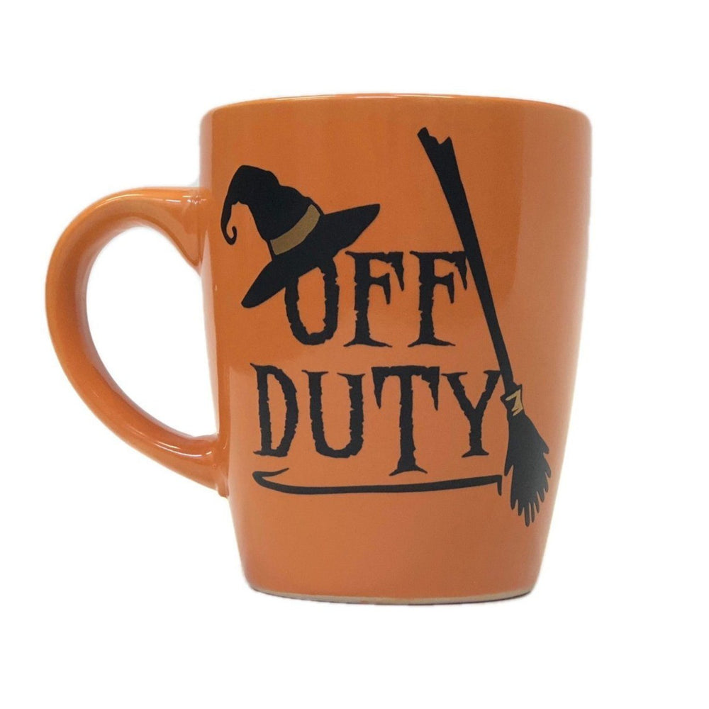 Off Duty Witch Halloween Coffee Mug - ScissorMill
