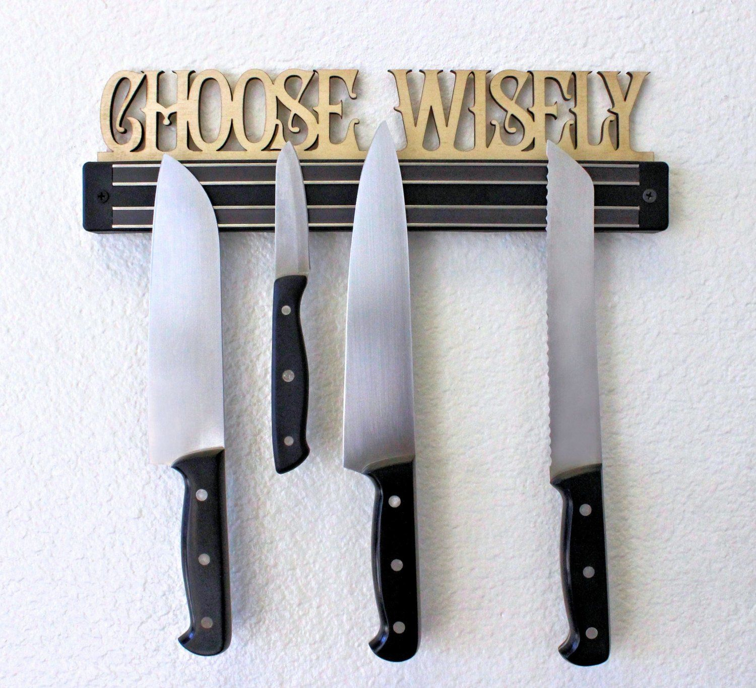 Knife Magnet - Kitchen Sign - Knife Block - ScissorMill