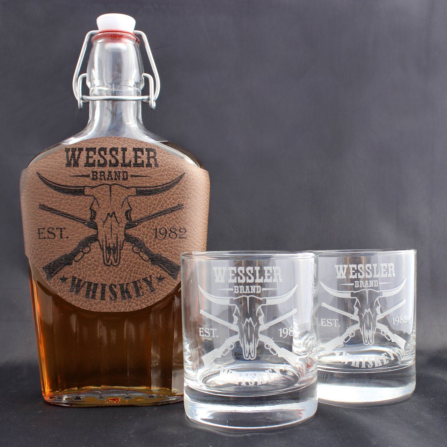Whiskey Set - Longhorn - ScissorMill