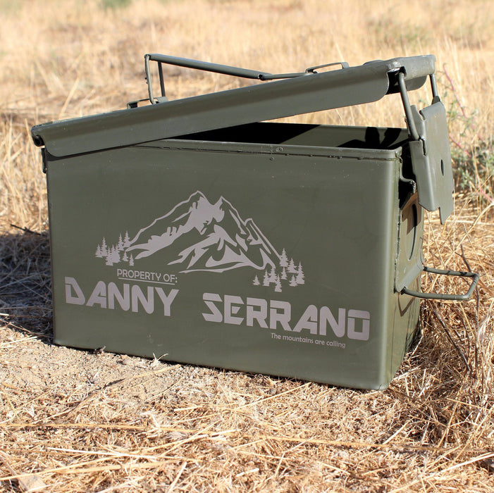 Storage Box - Mountains - ScissorMill