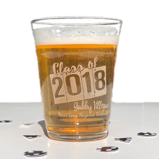 Graduation Beer Glass - ScissorMill