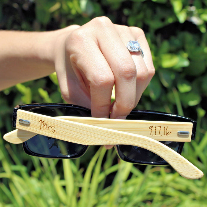 Wood Sunglasses Mr. and Mrs. - ScissorMill