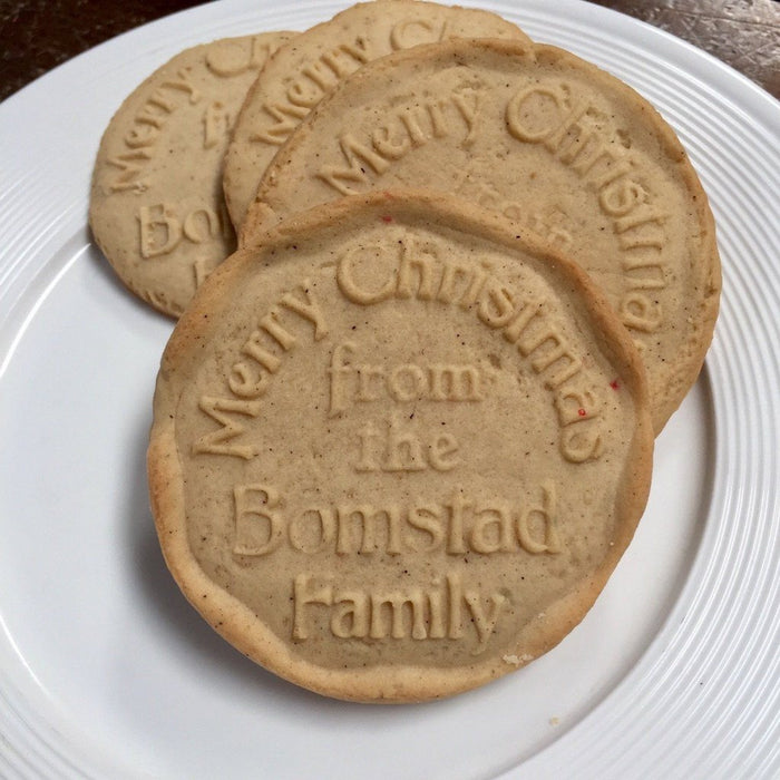 Christmas Cookie Stamp - ScissorMill