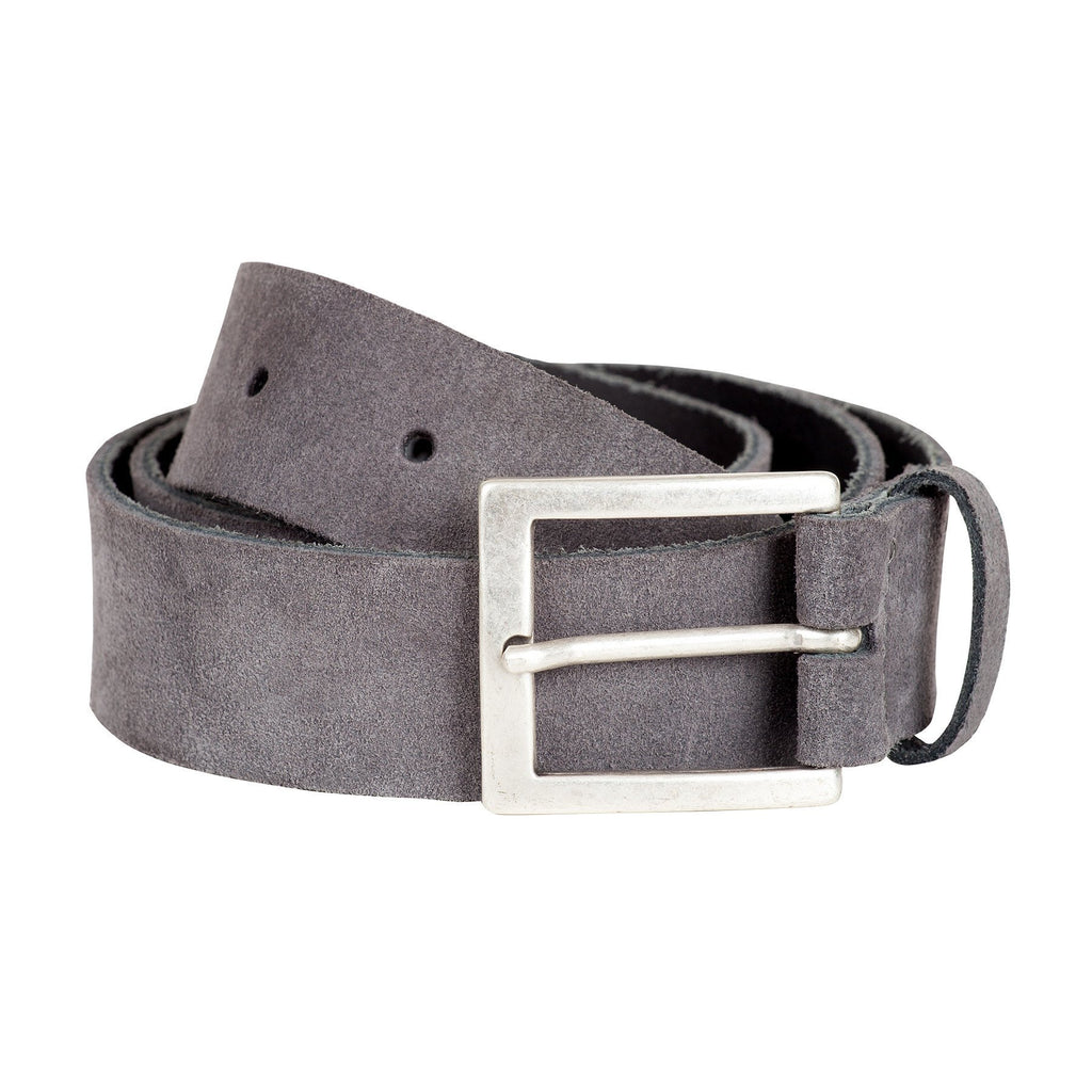 Sam leather suede belt grey