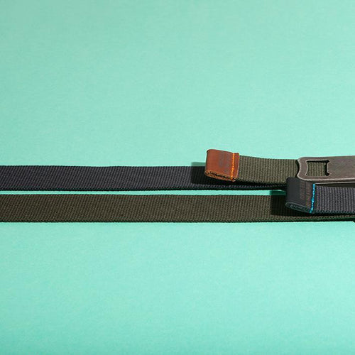 BOTTLE OPENER BELT WITH LEATHER DETAILS