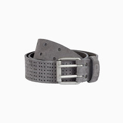 Bälter leather belt grey