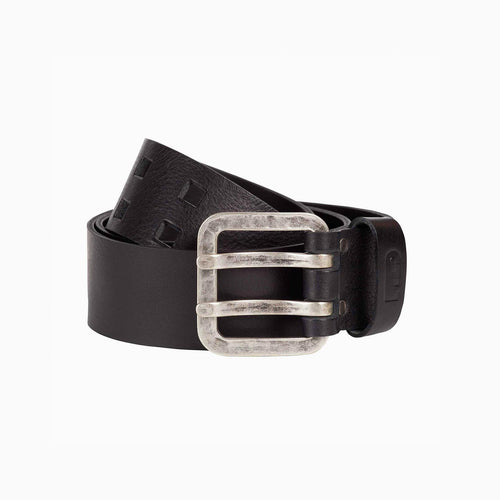 Brogan leather belt black