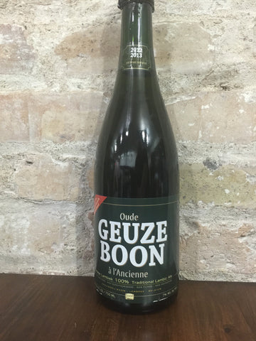 Boon Gueuze 2012-2013 Brewing Season