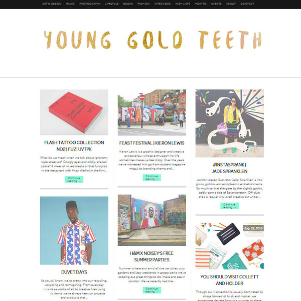 Young Gold Teeth You Should Visit Collett and Holder Feature