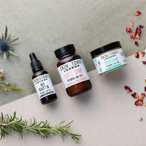 5 easy steps for a perfect organic skincare routine with Skin and Tonic London at Collett and Holder