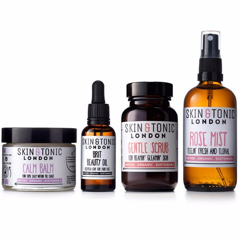 Skin and Tonic London Organic Skincare Collection