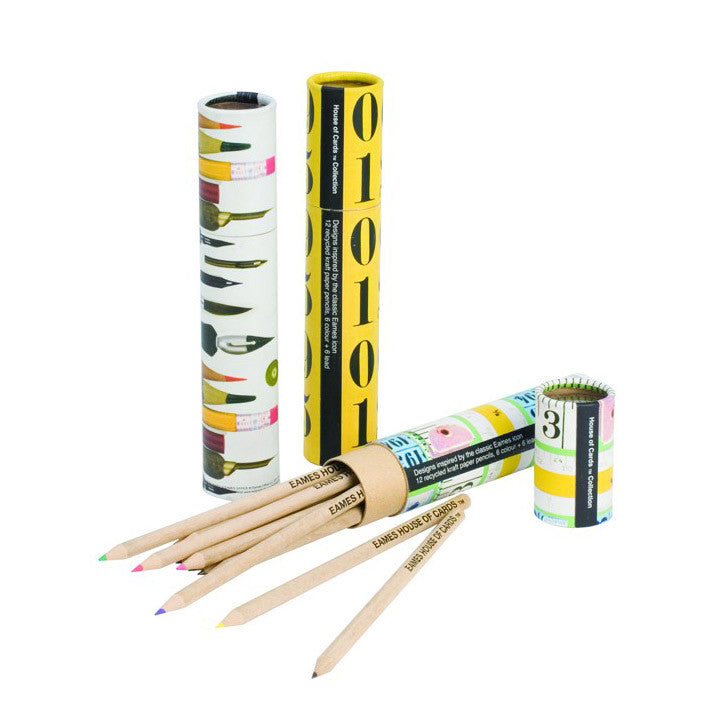 Eames Eco Pencil Tube Tape Measure Pencils | Stationery | Collett & Holder Gifted Living