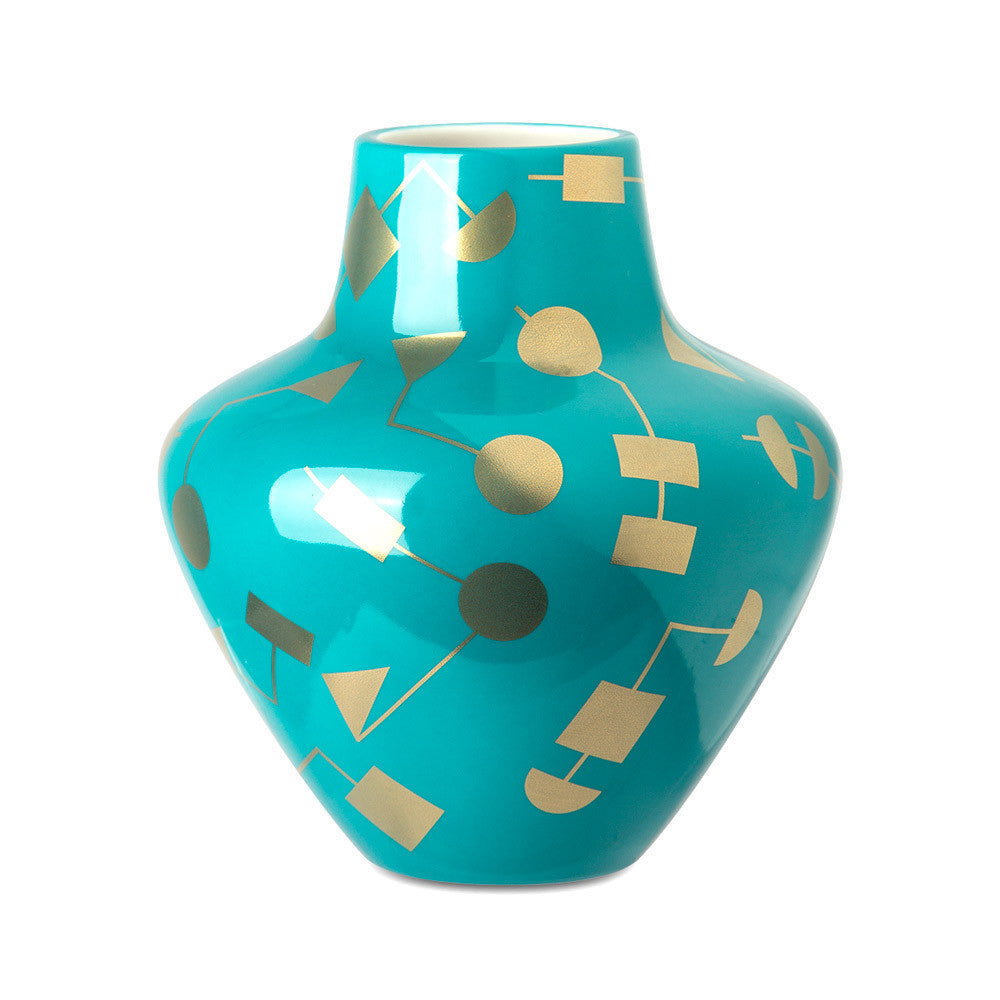 Jonathan Adler Santorini Artemis Vase | Quirky porcelain vase | Collett & Holder Gifted Living