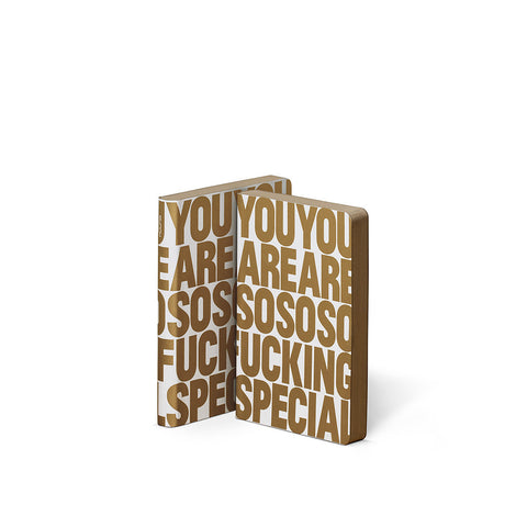 You Are So F**ing Special Leather A6 Notebook | Nuuna | Premium Stationary