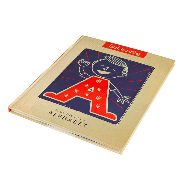 Paul Thurlby's Children's Alphabet Book Cover | Quirky Childrens Gift Idea | Graphic Illustrations | Collett and Holder Gifted Living