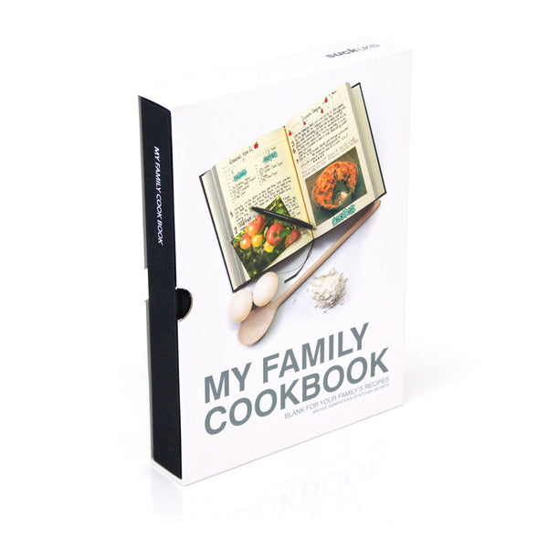 My Family Cookbook - Family Recipe Diary | Collett & Holder Gifted Living