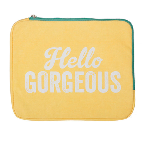 Soft iPad Case - Hello Gorgeous | NY-LON | Collett & Holder