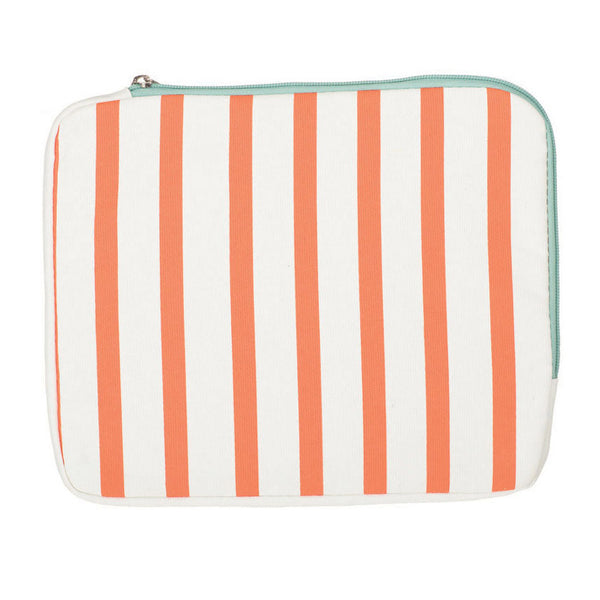 Soft iPad Case | Orange Stripe | NY-LON | Collett & Holder