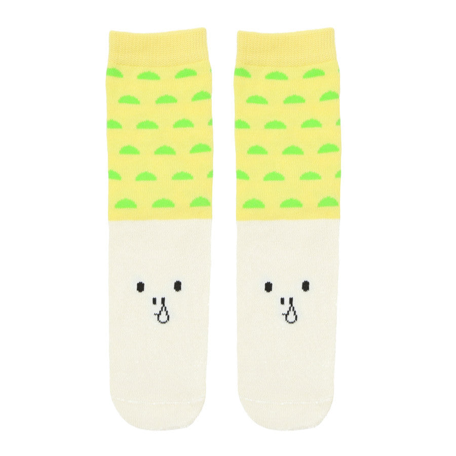 Petites Pattes Runny Nose Emoji Kids Socks | Quirky Childrens Gift Idea | Collett and Holder Gifted Living