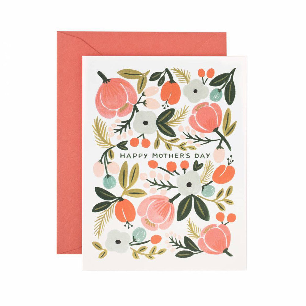 Happy Mother's Day Blooming Garden Note Card | Rifle Paper Co | Unusual Stationery | Collett & Holder
