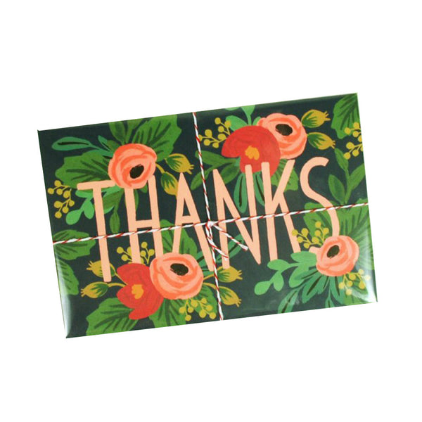 Thanks Floral Postcard Set | Rifle Paper Co | Unusual Stationery | Collett & Holder