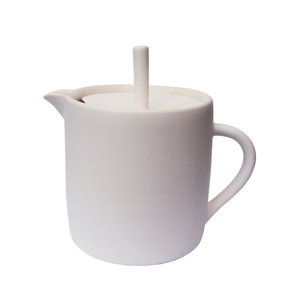 Sue Ure Maison Teapot White | Sue Ure Handcrafted Tableware | Collett and Holder Gifted Living
