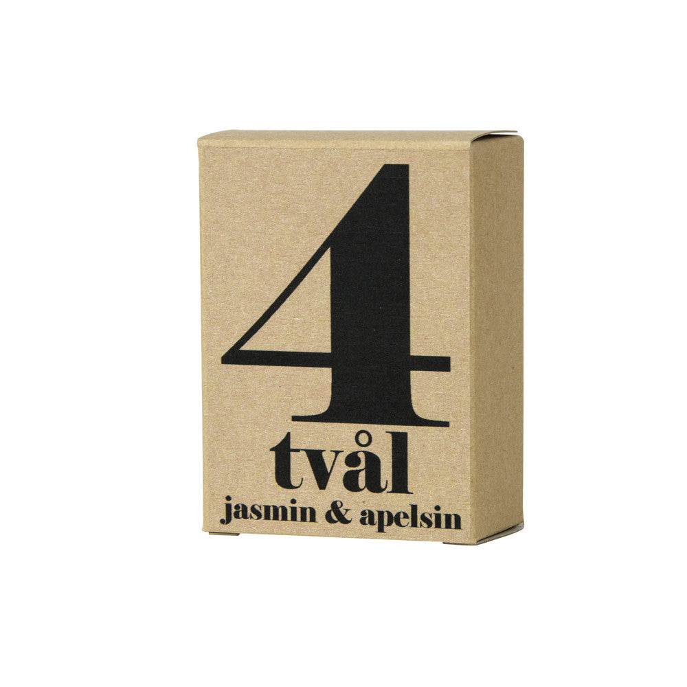 No.4 Jasmine and Orange Hand Cut Soap Bar | Terrible Twins | Luxury Soap | Collett & Holder Gifted Living