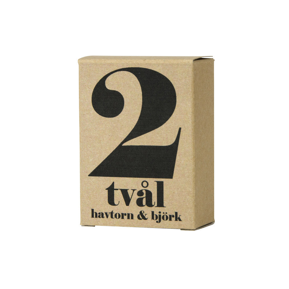 No.2 Sea Buckthorn and Birch Hand Cut Soap Bar | Terrible Twins | Luxury Soap | Collett & Holder Gifted Living
