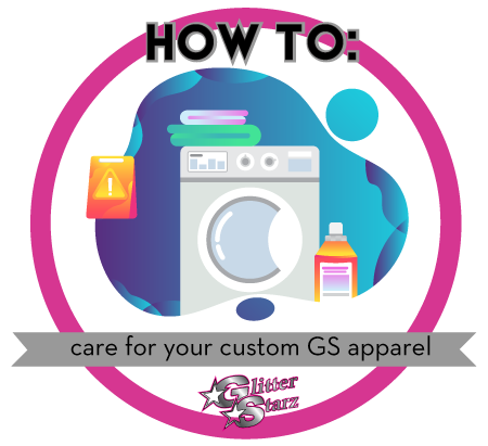 How to Care For your Glitterstarz Uniforms & Apparel