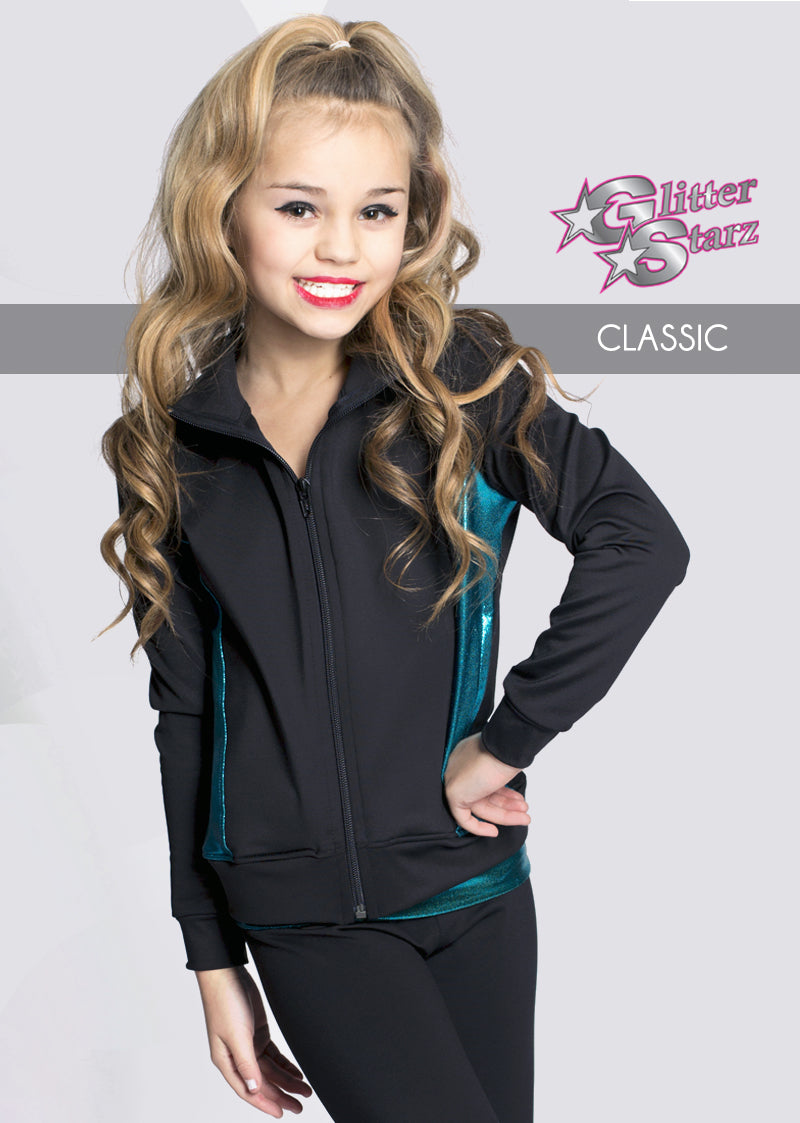 CLASSIC-GlitterStarz-Custom-Rhinestone-Warmup-With-Bling-Team-Logo-And-Rhinestone-Name-For-Cheerleading-And-Dance-and-Gymnastics-Warmups-Jacket