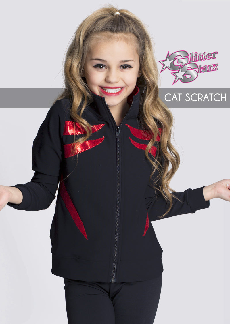 Cat-Scratch-GlitterStarz-Custom-Rhinestone-Warmup-With-Bling-Team-Logo-And-Rhinestone-Name-For-Cheerleading-And-Dance-and-Gymnastics-Warmups-Jacket