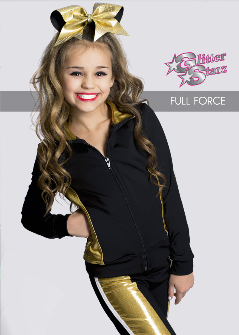 FULLFORCE-GlitterStarz-Custom-Rhinestone-Warmup-With-Bling-Team-Logo-And-Rhinestone-Name-For-Cheerleading-And-Dance-and-Gymnastics-Warmups-Jacket