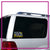 Rock Solid Academy Bling Clingz Window Decal All in Rhinestones