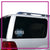 Chesapeake Elite Bling Clingz Window Decal All in Rhinestones
