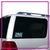 Lemoore Allstars Bling Clingz Window Decal All in Rhinestones