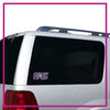 Prestige All Stars Bling Clingz Window Decal All in Rhinestones