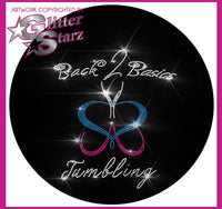Back2Basics Bling Fleece Jacket with Rhinestone Logo