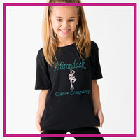 Basic-Tshirt-adirondack-dance-company-glitterstarz-custom-rhinestone-bling-shirts-and-apparel