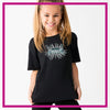 CYSC Elite Force Bling Basic Tee with Rhinestone Logo