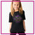 Ever After Dance Academy Bling Basic Tee with Rhinestone Logo