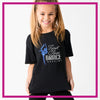 Basic-Tshirt-first-class-dance-academy-glitterstarz-custom-rhinestone-bling-shirts-and-apparel