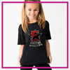 Basic-Tshirt-fivestar-athletics-glitterstarz-custom-rhinestone-bling-shirts-and-apparel