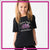 Melissa Marie School of Dance Bling Basic Tee with Rhinestone Logo